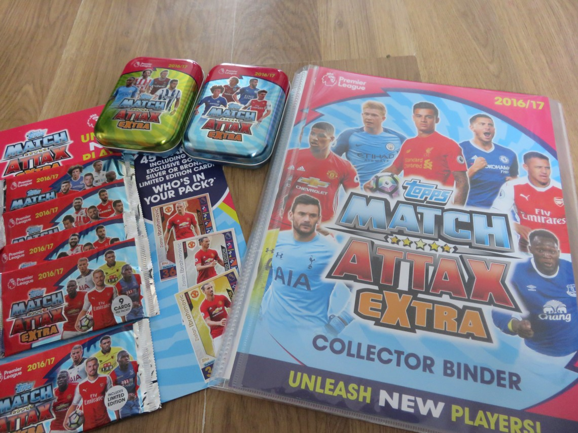 Match Attax Items