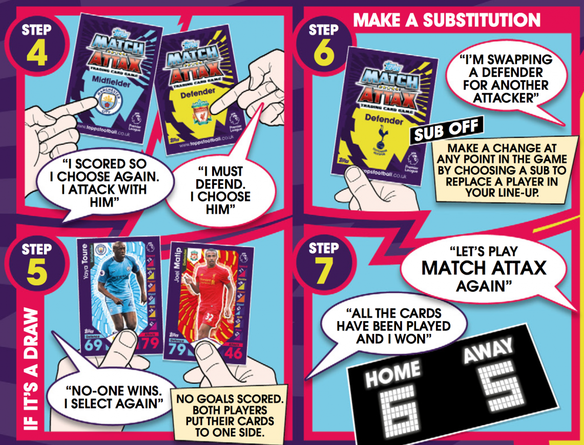 Match Attax Play Rules