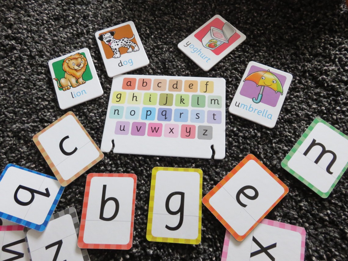 Orchard Alphabet Flash Cards