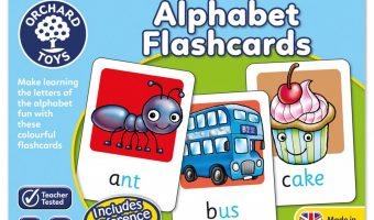 Orchard Toys Alphabet Flashcards – Review