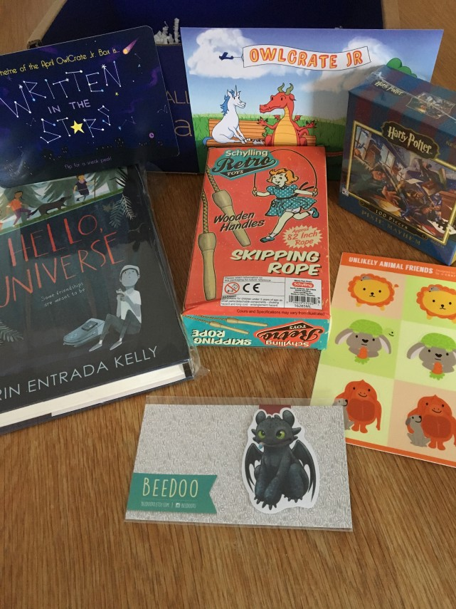 Owlcrate Jr inside