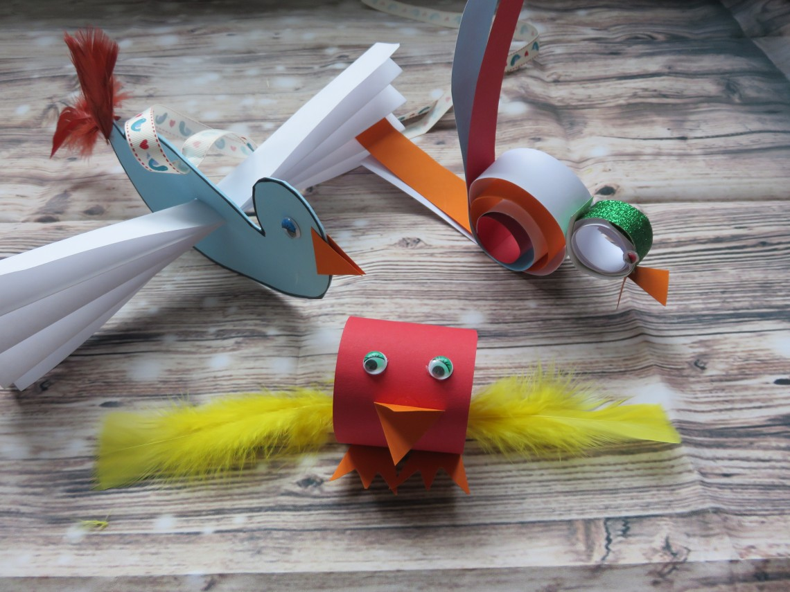 Simple Spring Bird Crafts for Kids
