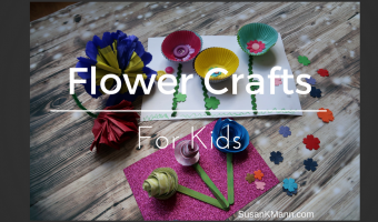 Flower Crafts for Kids Twitter