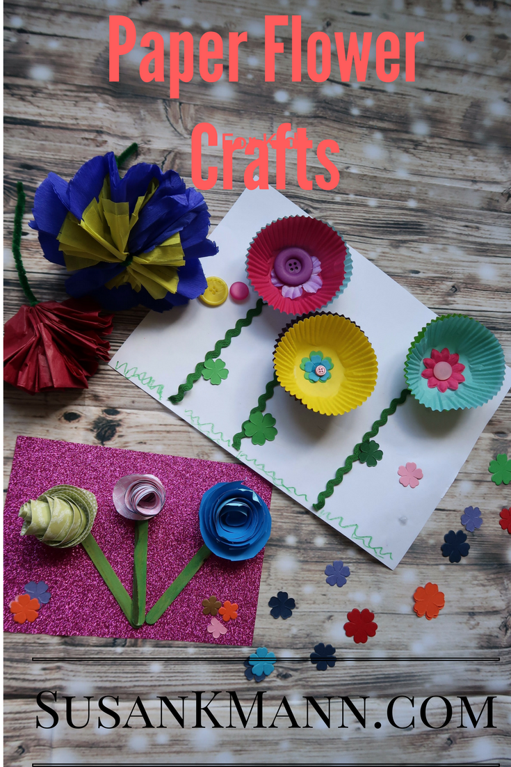 Paper Flower Crafts for Kids Pinterest