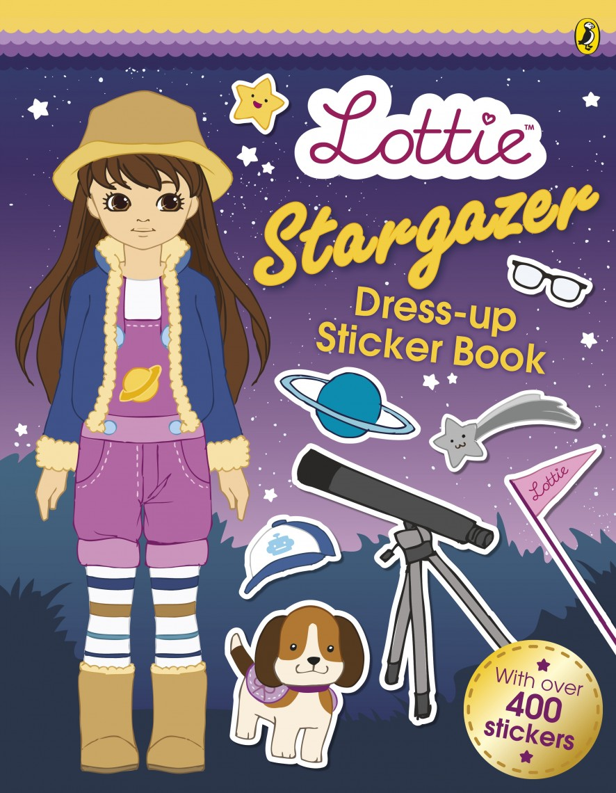 Lottie Stargazer Sticker Book