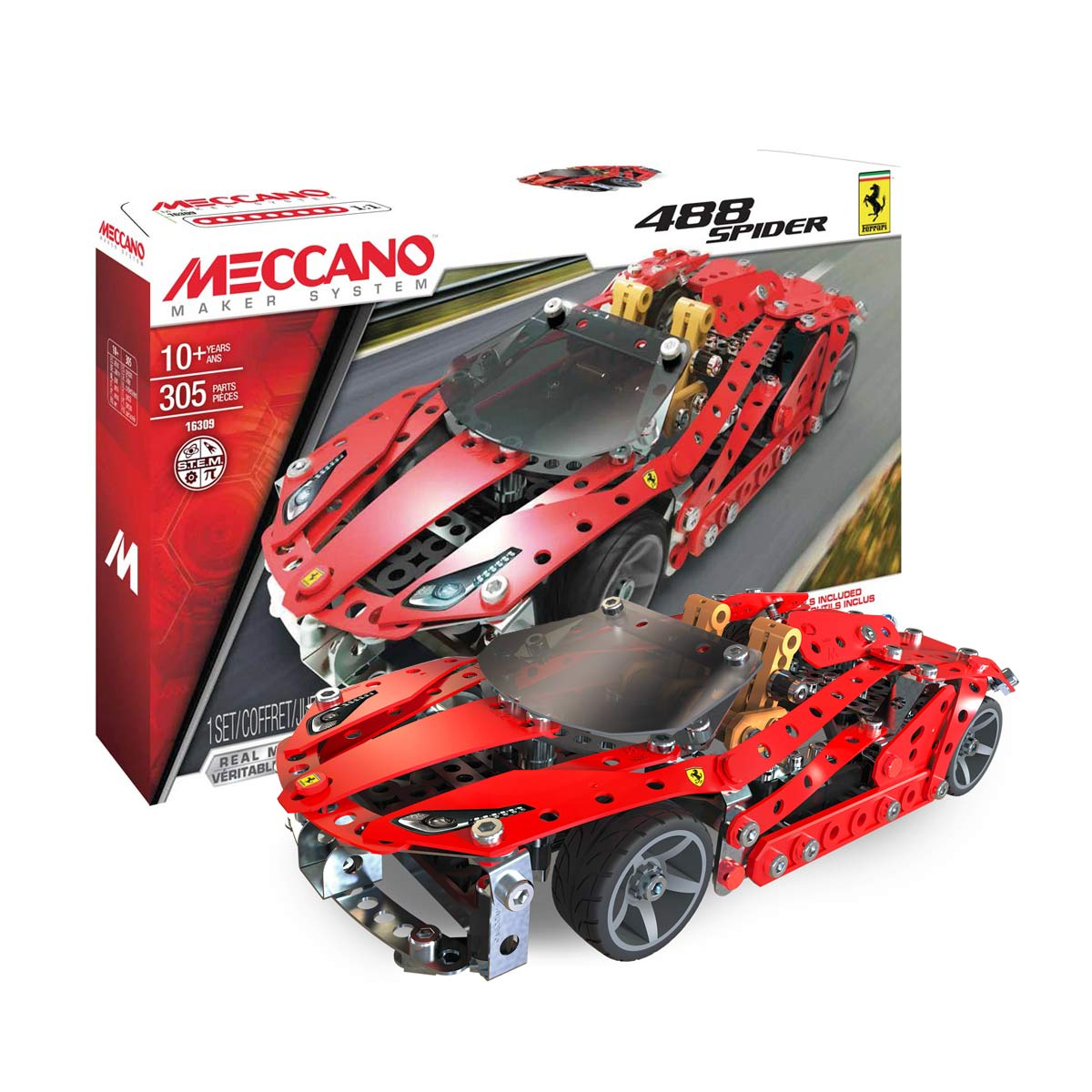 MECCANO FERRARI 488 SPIDER Review