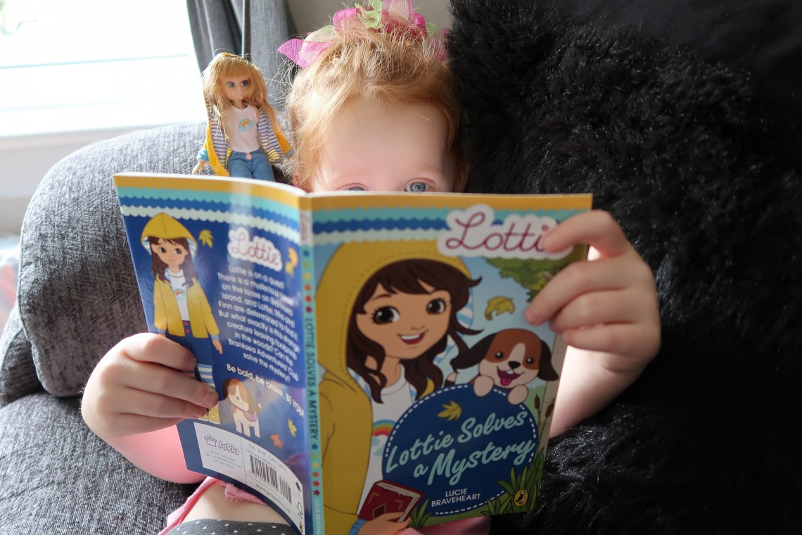 Reading Lottie Doll Book