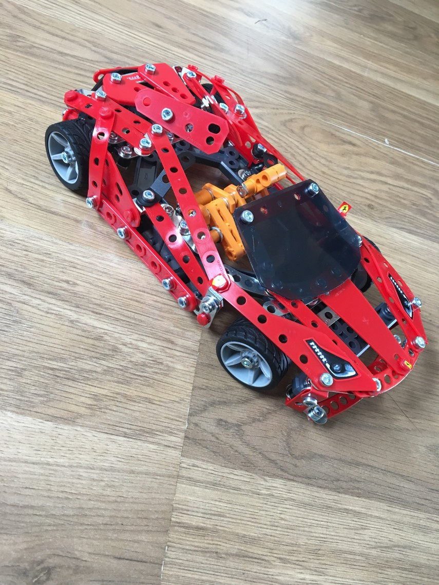 Side MECCANO FERRARI 488 SPIDER
