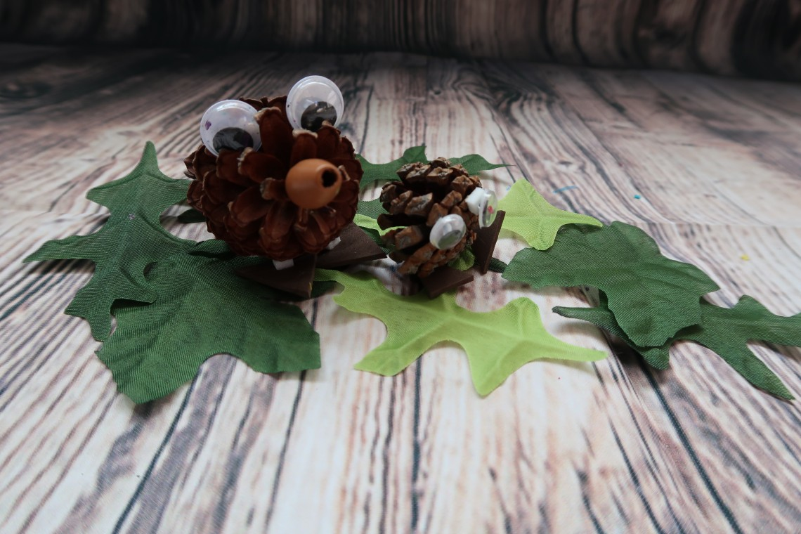 Hedgehog Nature Craft