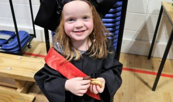 The End Of An Era – Nursery Graduation