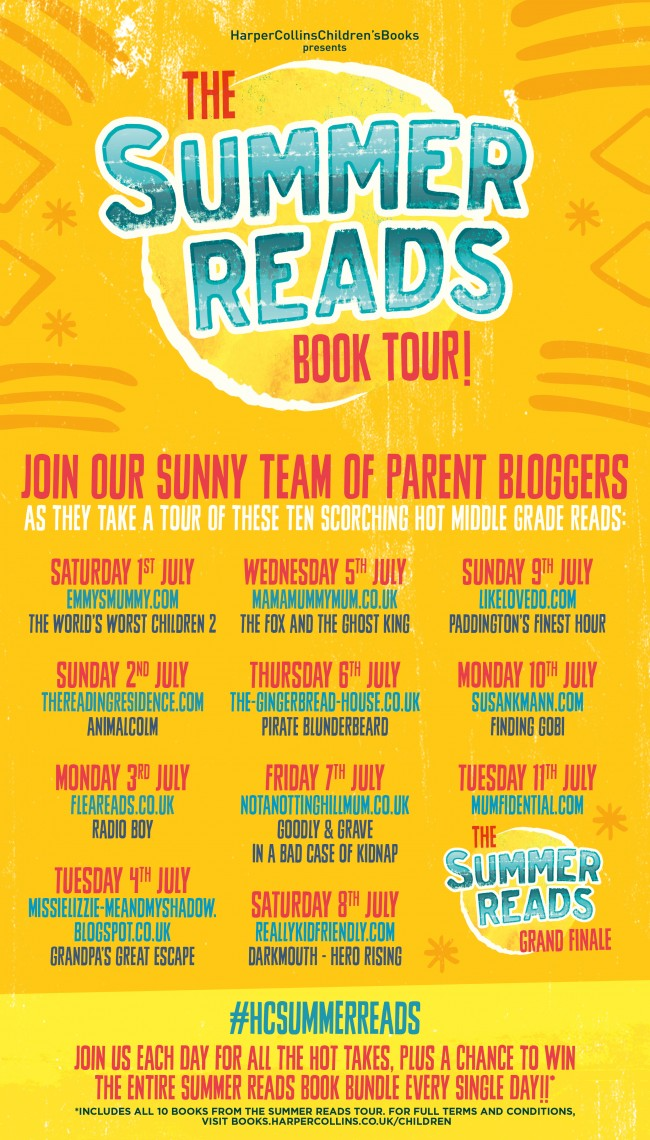 HCSUMMER Reads Book Tour