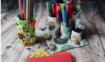 Simple Back to School Crafts For Kids