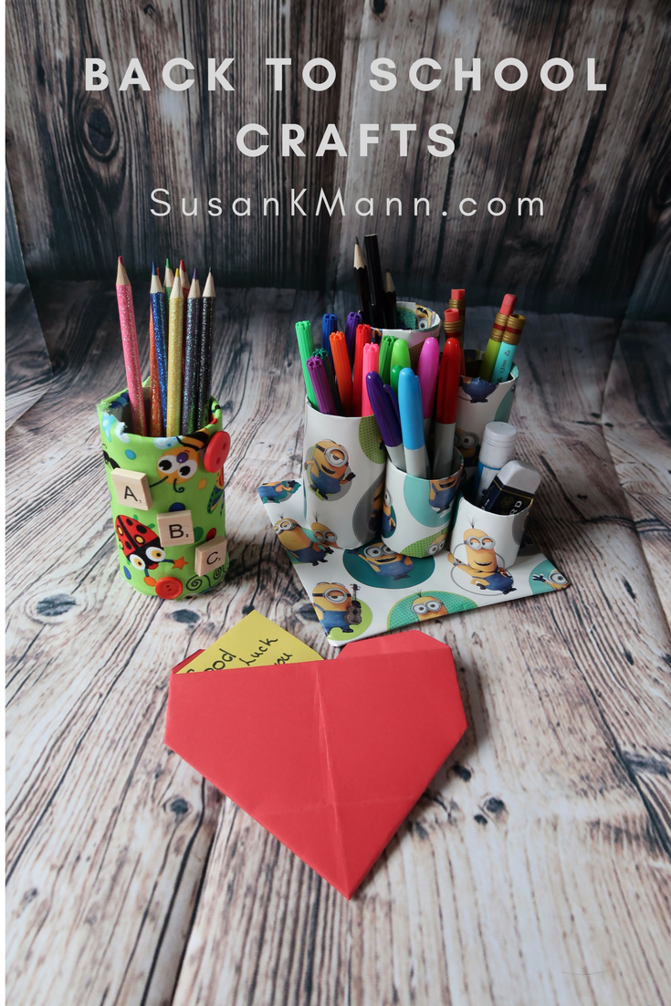 Back to School Crafts for Kids - SusanKMann