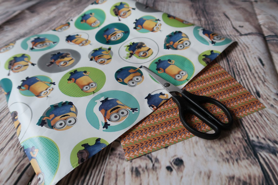 Base of Minion Stationery Organiser Craft