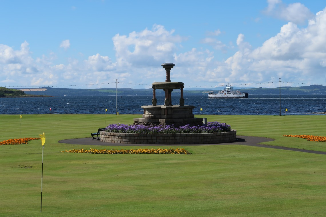 Fountain in Largs