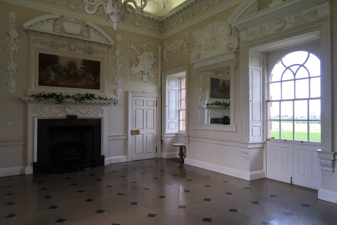 Inside chatelherault House