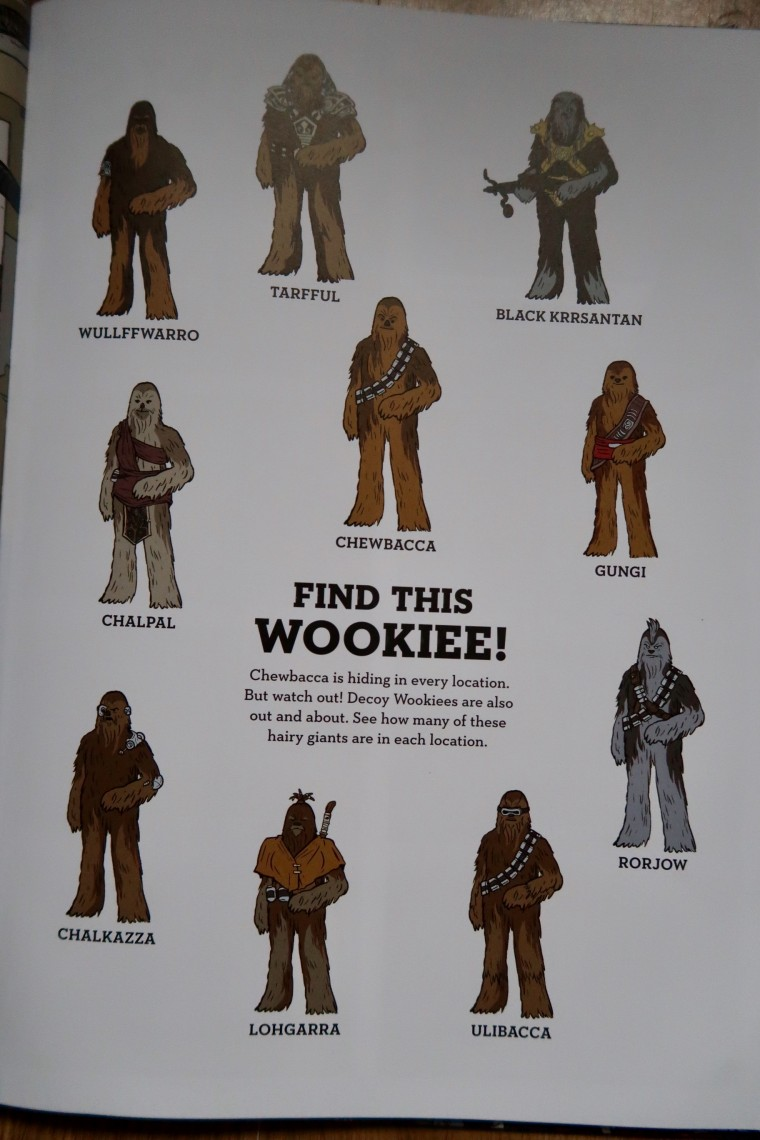 Meet the Wookiees