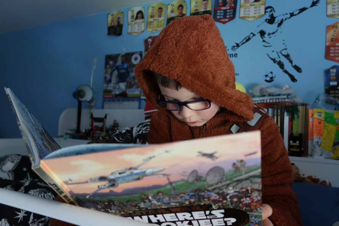 Reading Where's the Wookiee