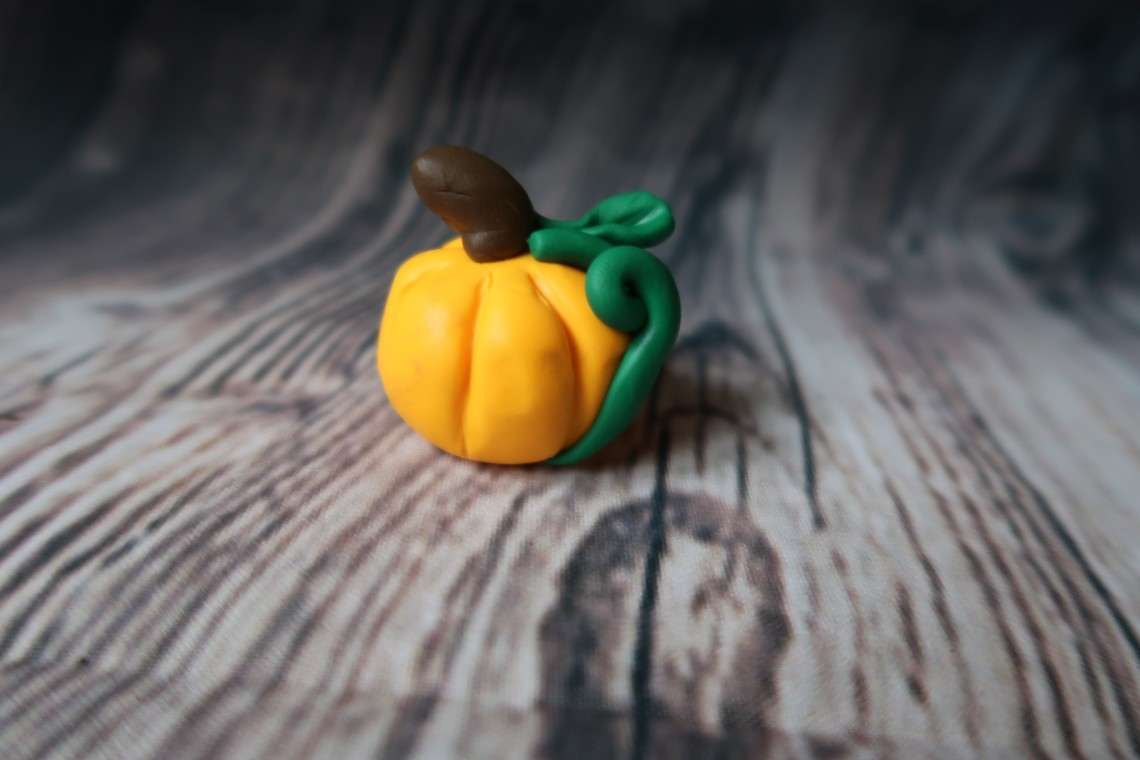 Clay Pumpkin