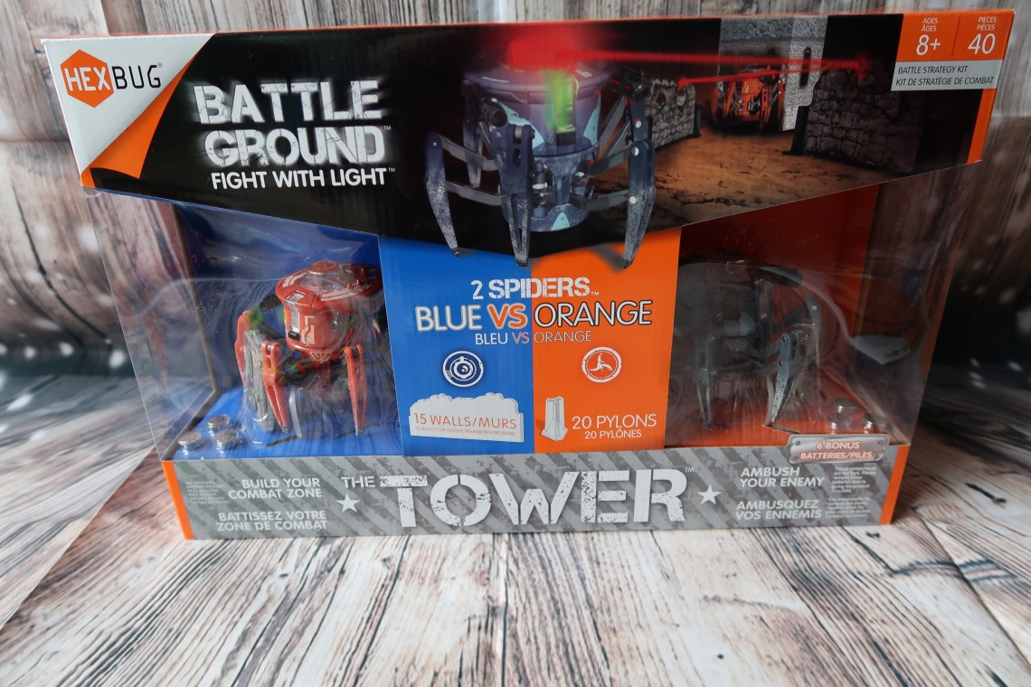 Hexbug Battle Ground Tower Review