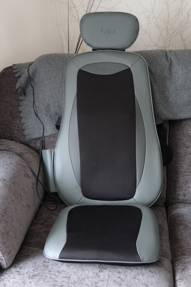 Naipo back massager on chair