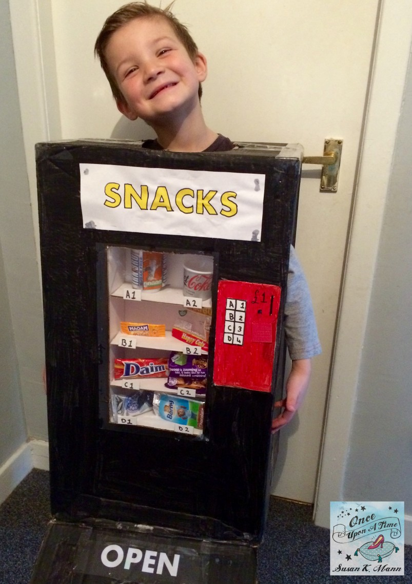 10 Ideas About Cardboard Box Cars On Pinterest: Last Minute Cardboard Box Costumes For Kids