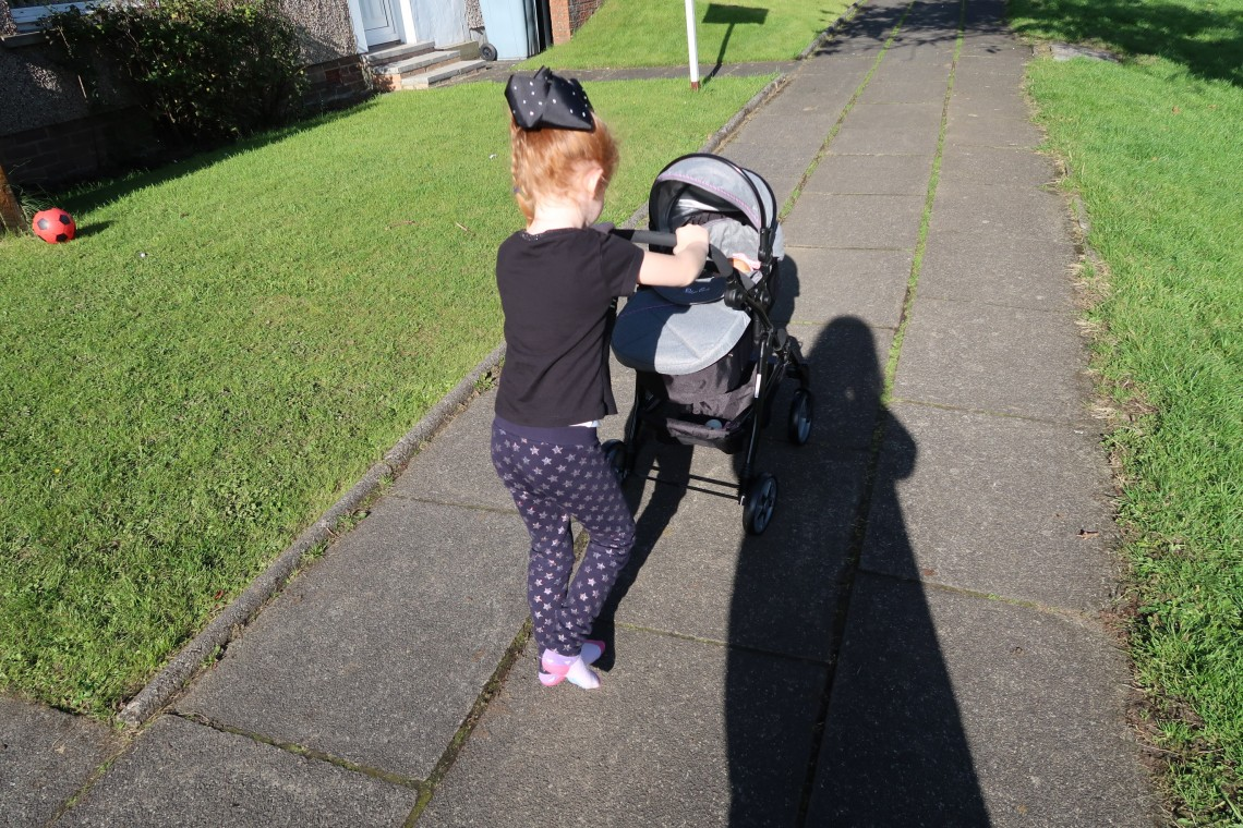 Walking with Silvercross Pram