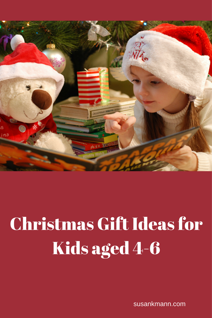 Christmas Gift Ideas for Kids Aged 4-6