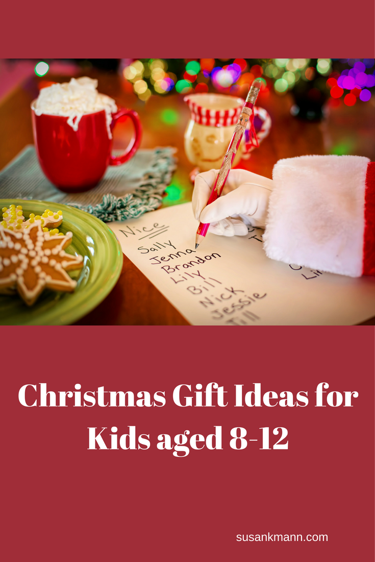 Christmas Gift Ideas for Kids Aged 8-12