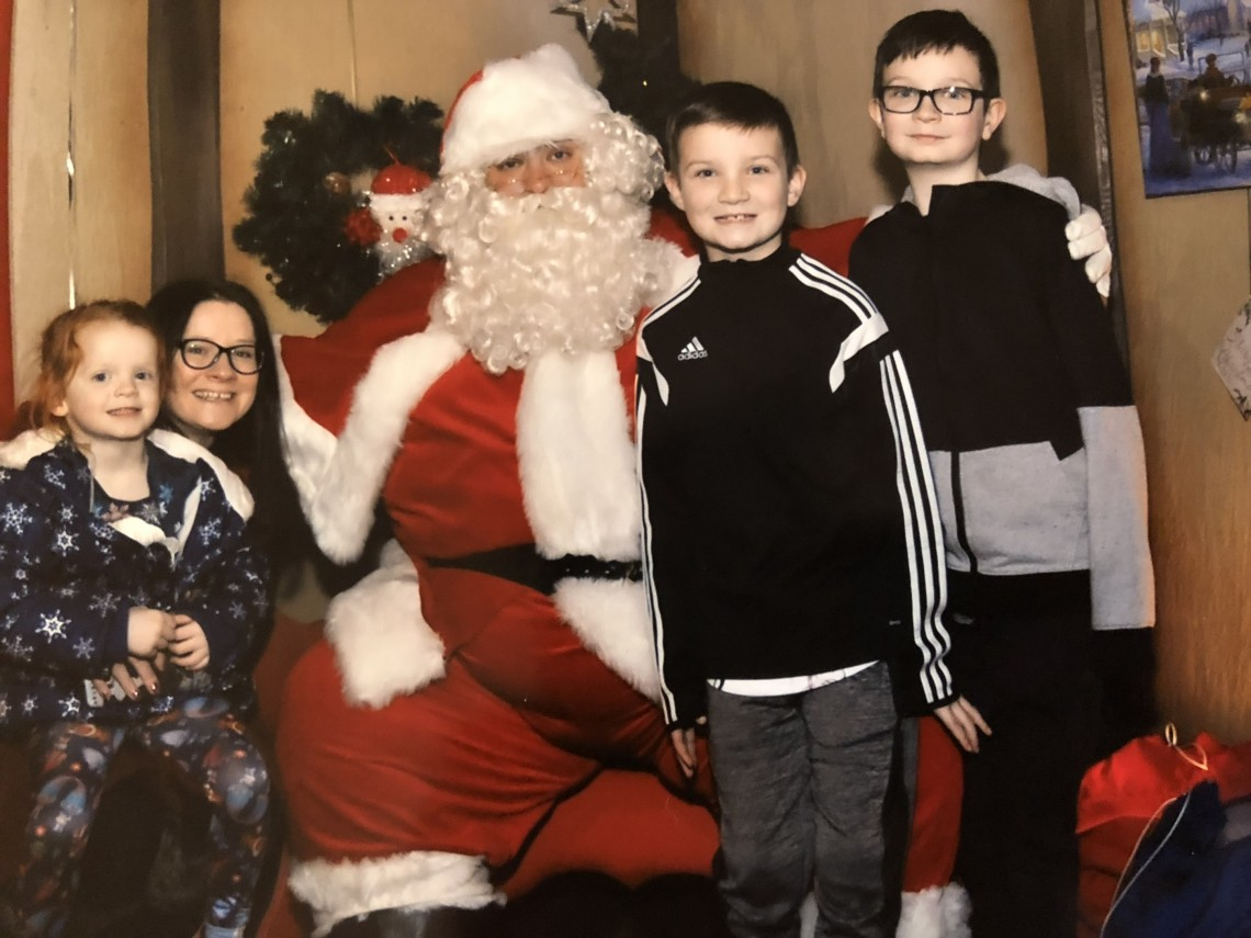 A Christmas Challenge And Visiting Santa at St Enoch Centre in Glasgow