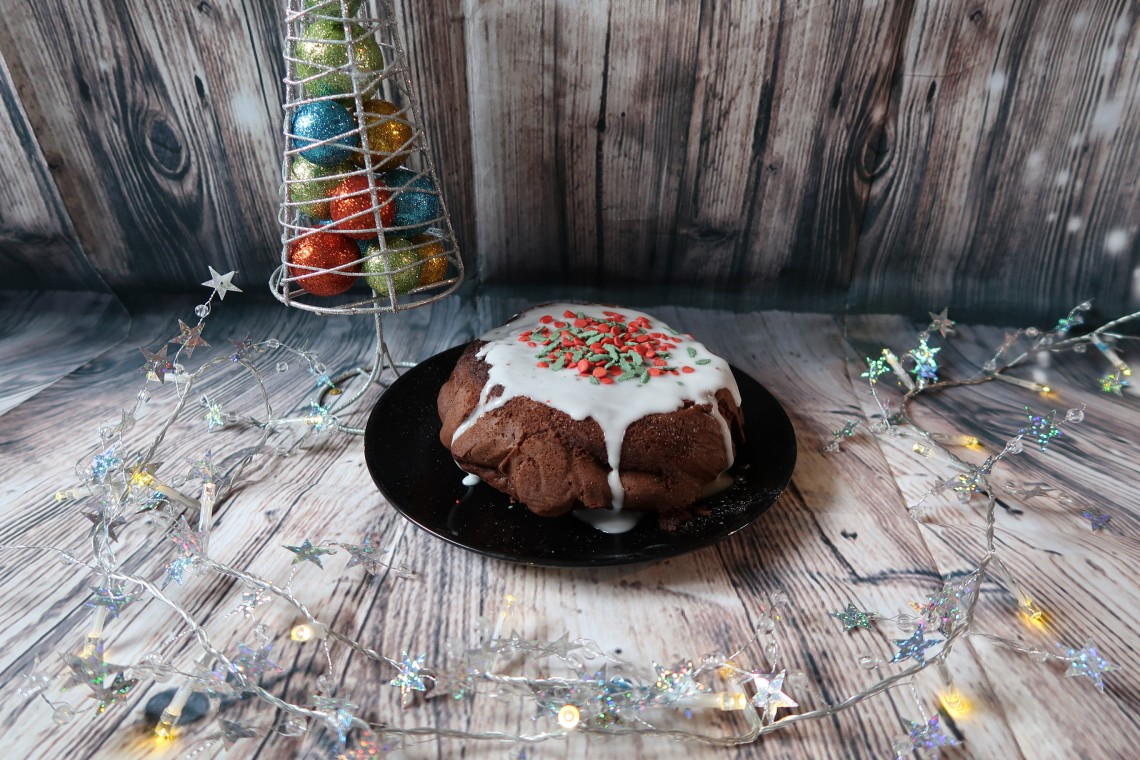 Tesco Gluten Free Chocolate Brownie Christmas Pudding