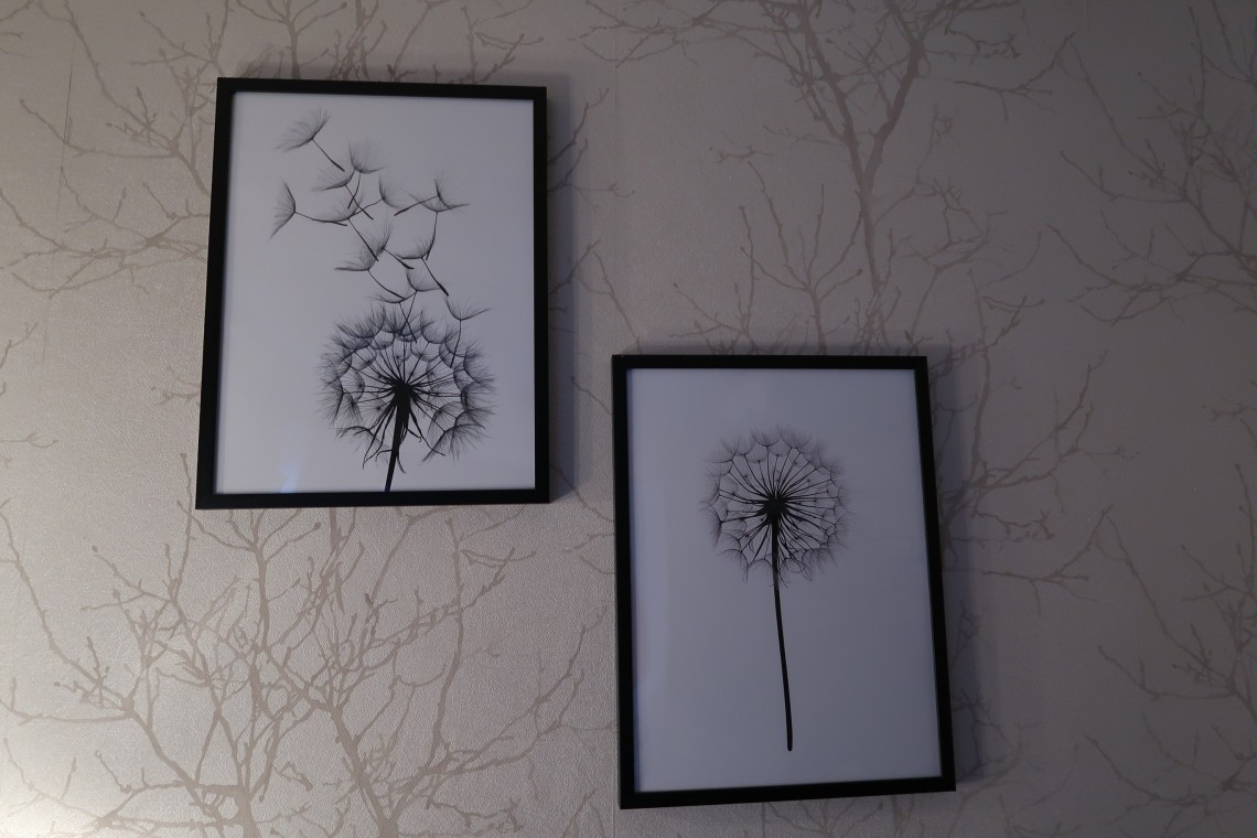 Desenio Dandelion Clocks