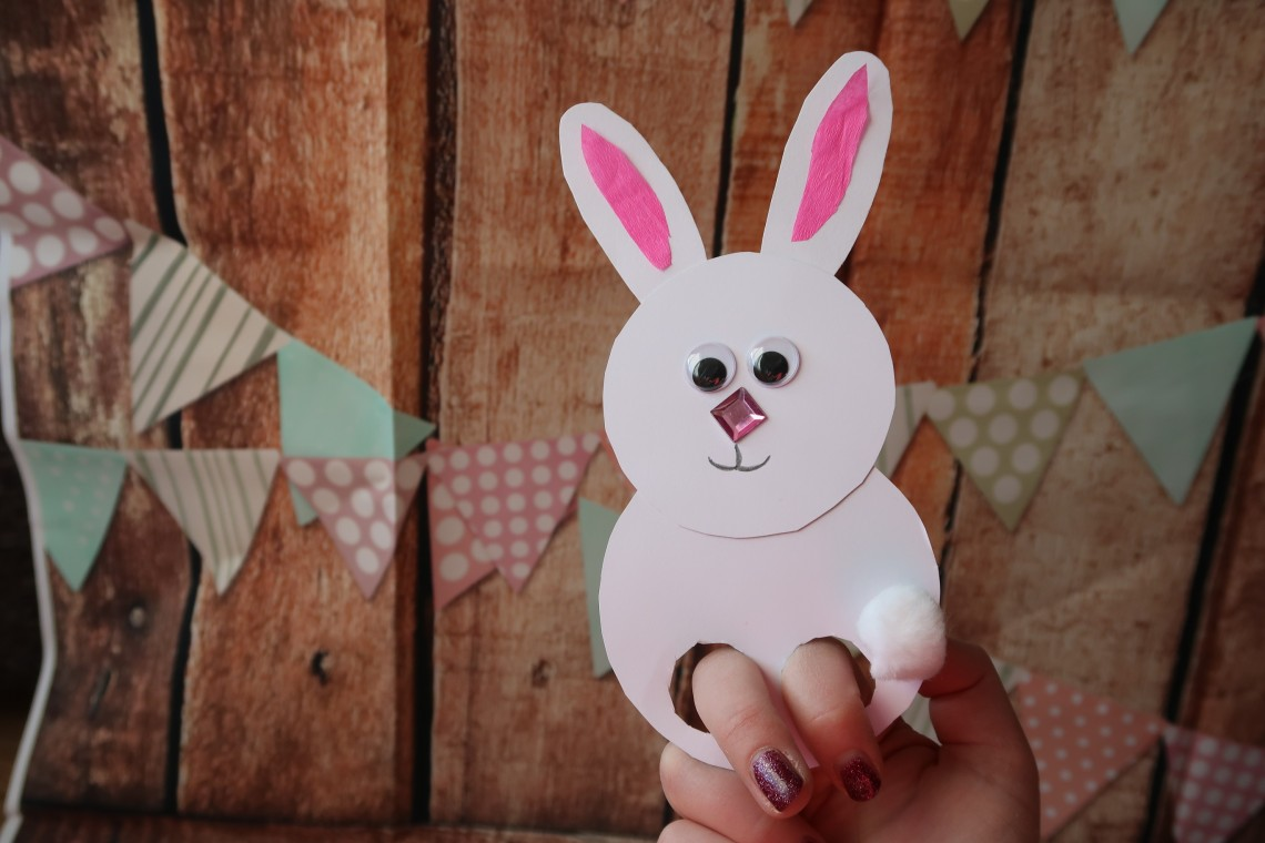 Jumping Bunny Easter Craft
