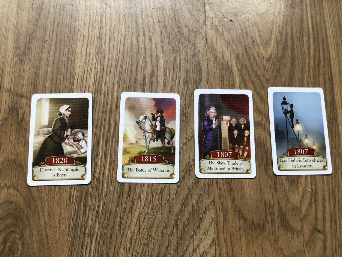 Older period Timeline Cards
