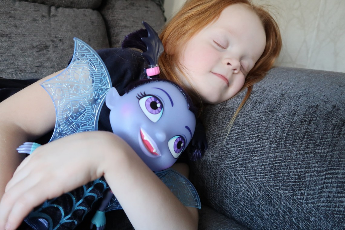 Sleeping Vampirina