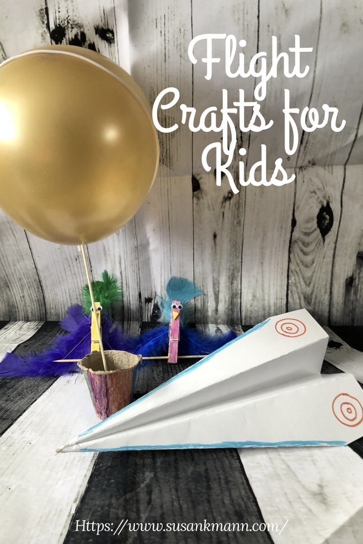 Flight Crafts for Kids Pin