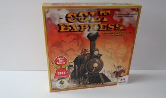Colt Express Blogger Board Game Club