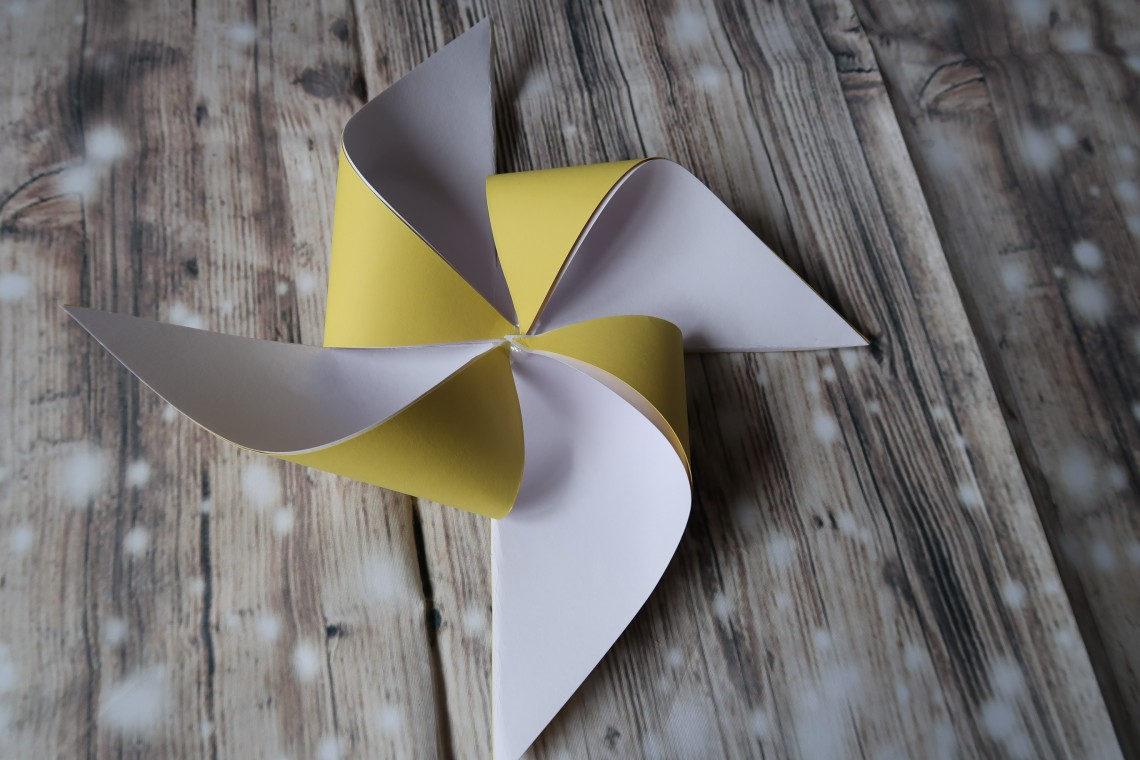 Fold Flower Windmill