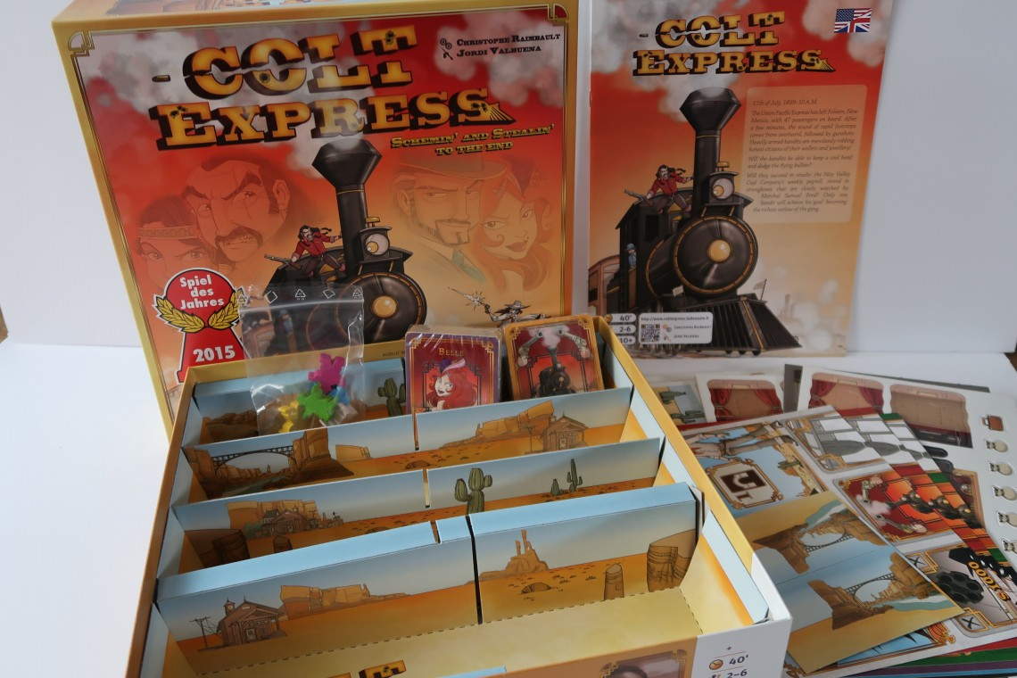 Inside Colt Express Box