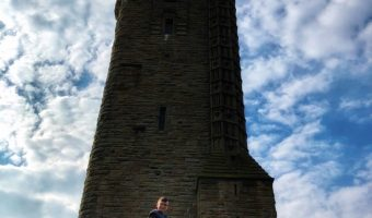 Wallace Monument, Rainbow Sky And Parenting Our Weekly Photos – Week 16