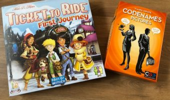 Ticket to Ride & Codenames