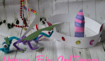 Simple Unicorn, Fairy And Dragon Crafts For Kids
