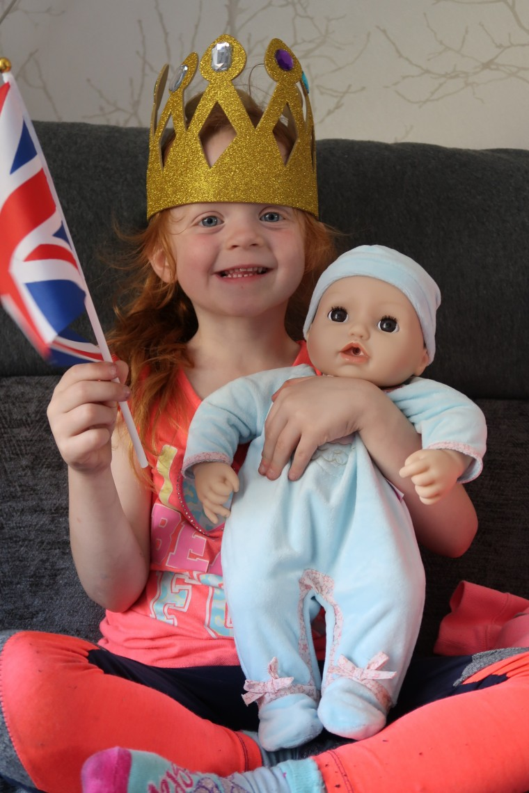 Celebrating the birth of Prince Louis