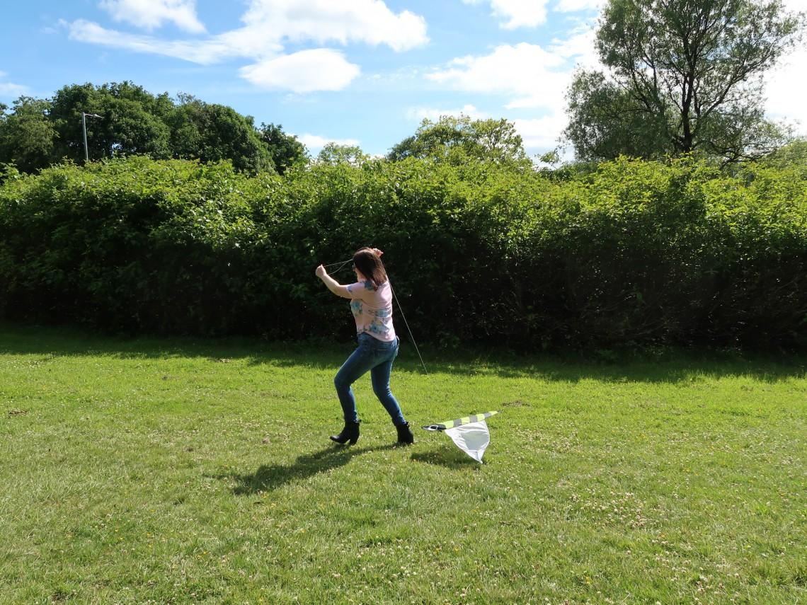 Kite Flying Fail