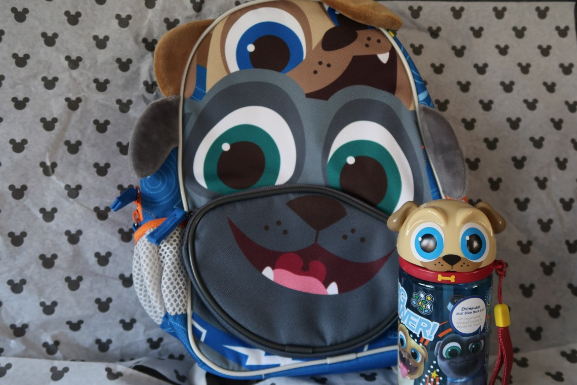 Puppy Dog Pals School Bag & Cup