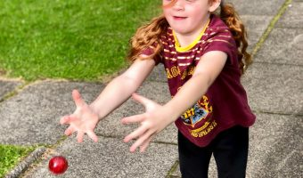 Football, Kitty, Books And Bouncing Balls Our Weekly Photos – Week 37