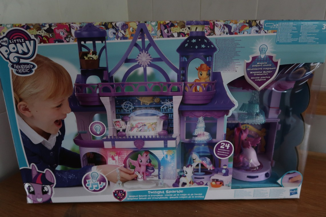 My Little Pony Twilight Sparkle Magical School of Friendship Box