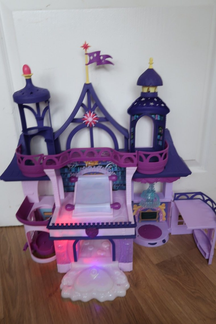 My Little Pony Twilight Sparkle Magical School of Friendship Lit up