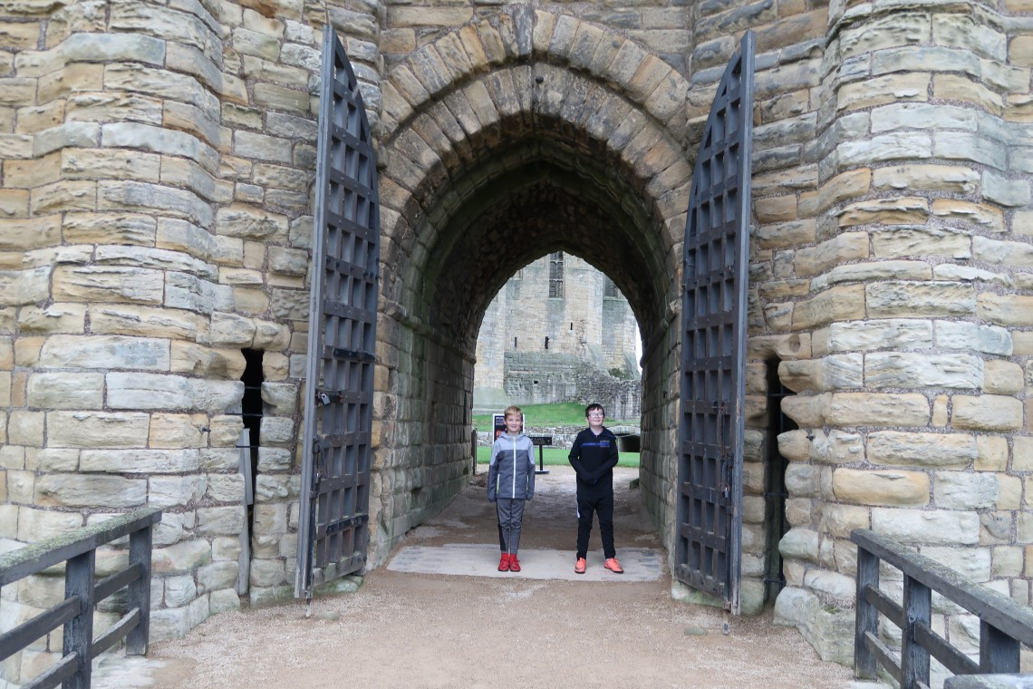 Warkworth Castle Entrance