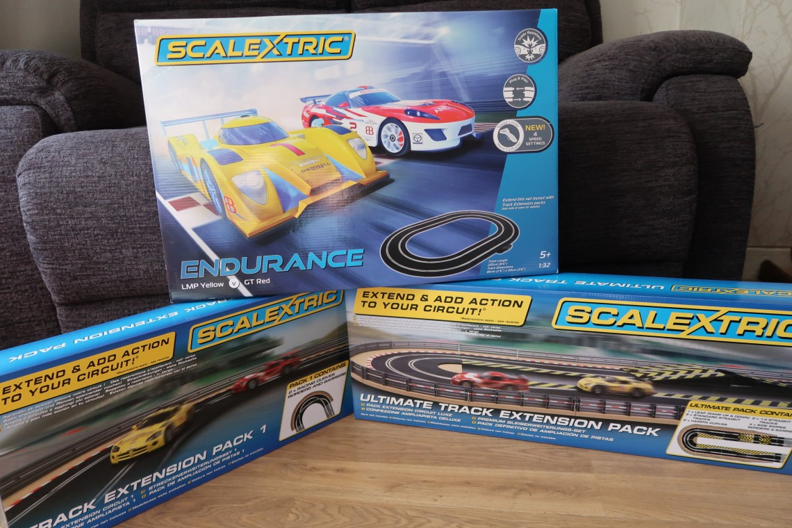 Scalextric Endurance and expansion packs